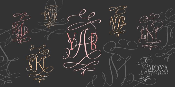 Barocca Monograms