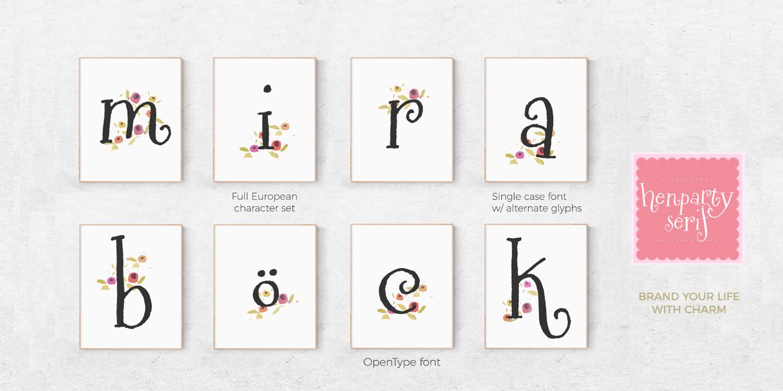 Henparty Serif