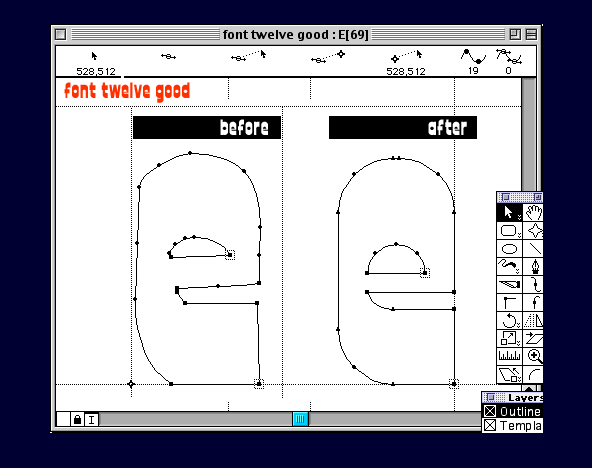 Font Twelve Good