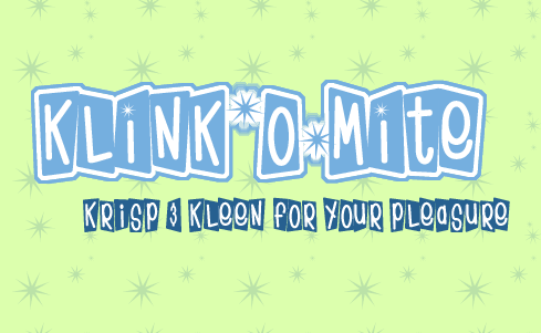 Klink-O-Mite Font by Fontalicious : Font Bros