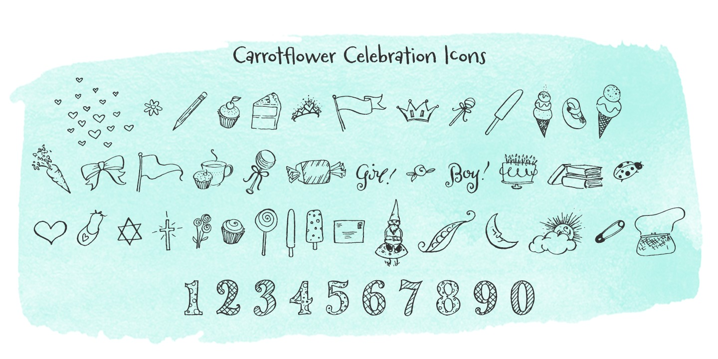 Carrotflower Celebration