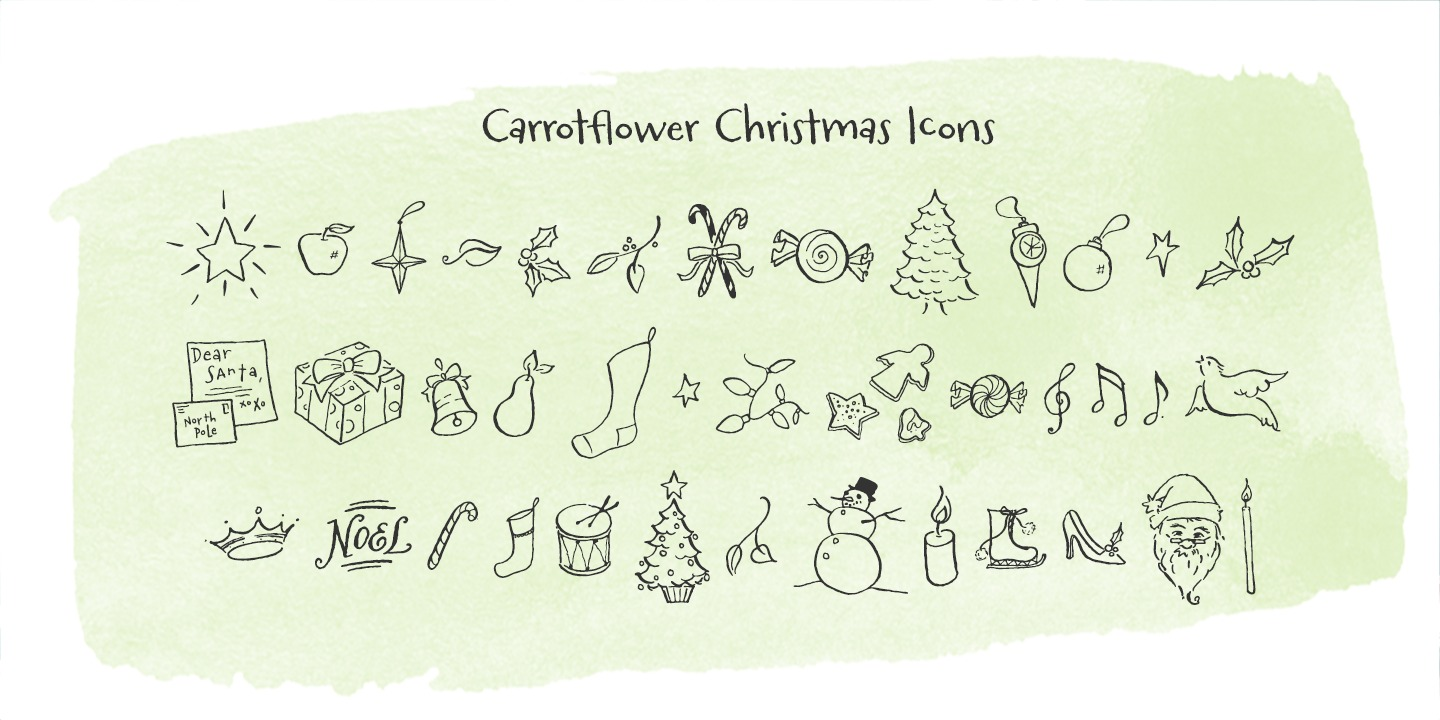 Carrotflower Christmas