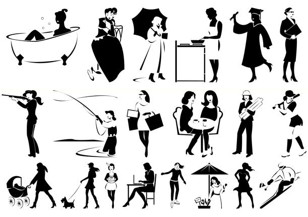 Vibrant Women