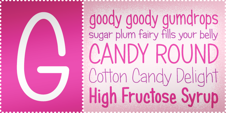 Candy Round BTN Condensed Light