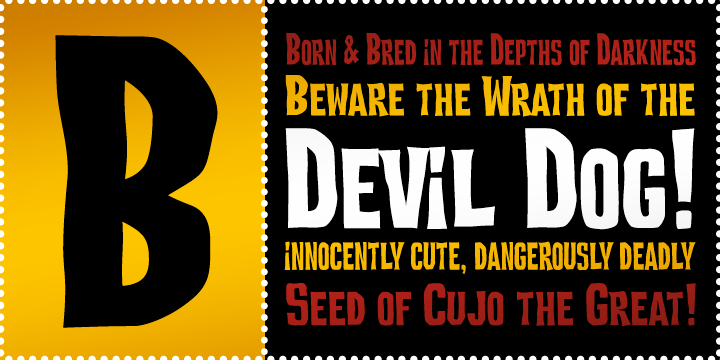 Devil Dog BTN Condensed