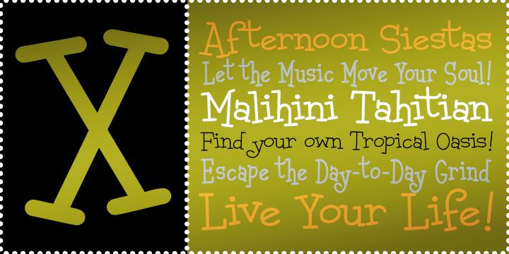 Malihini Tahitian BTN Condensed