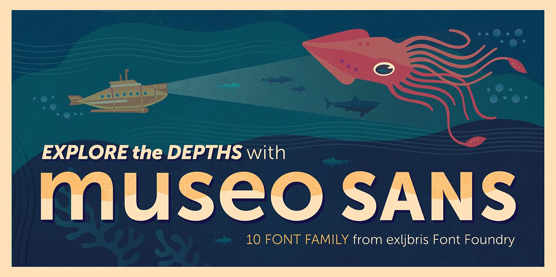 Museo Sans 100