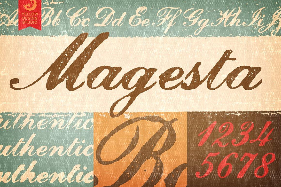 Magesta Script Regular