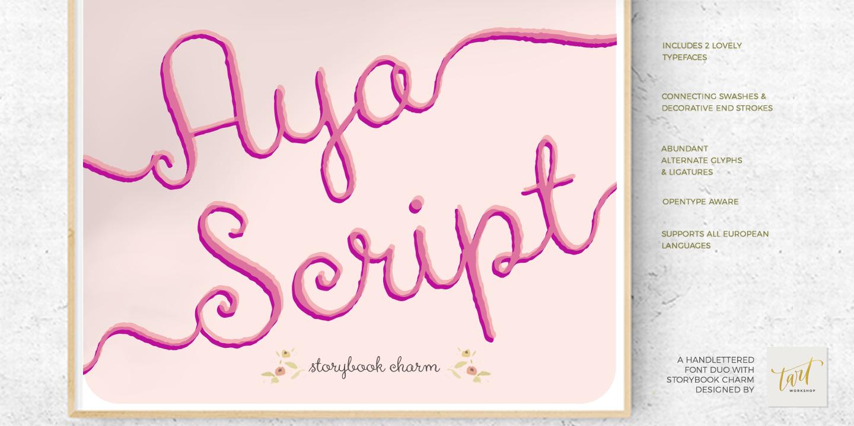 Aya Script Regular