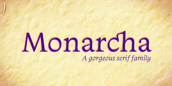 Monarcha Book Italic