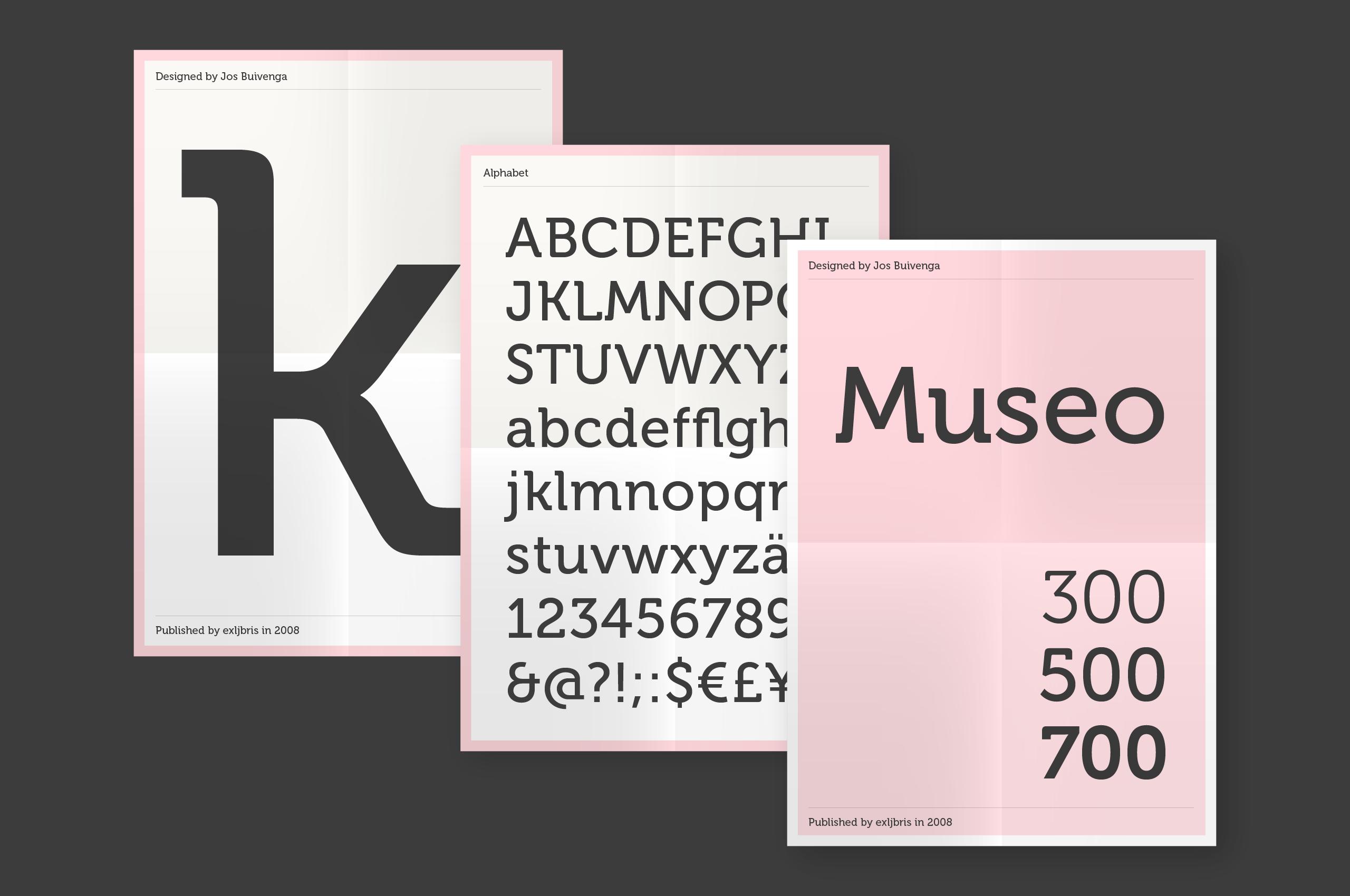 Museo Slab 500 Regular