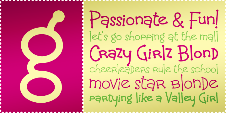 Crazy Girlz Blond BTN Regular