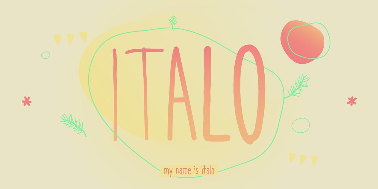 Italo Regular Italic
