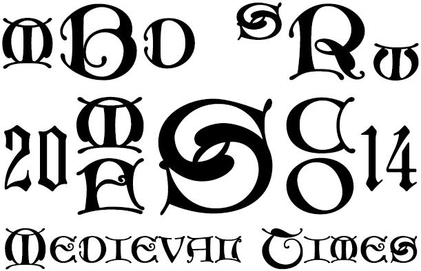 MFC Medieval Monogram