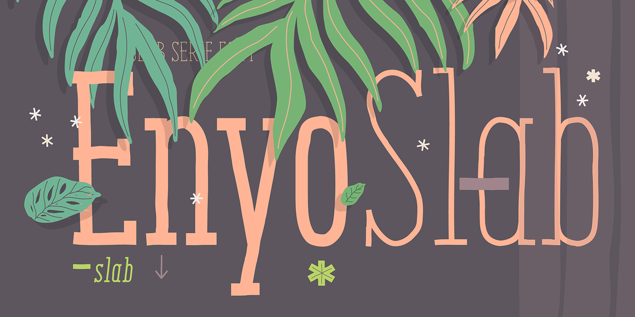 Enyo Slab Light Italic