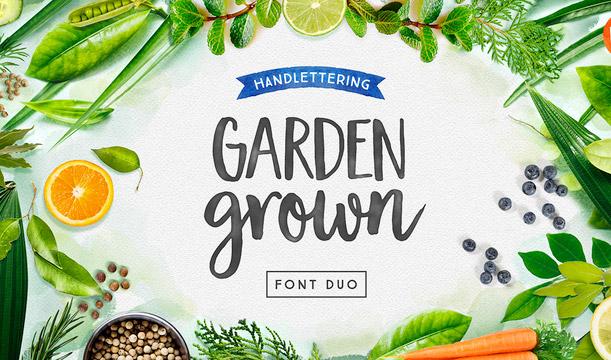 Garden Grown Caps