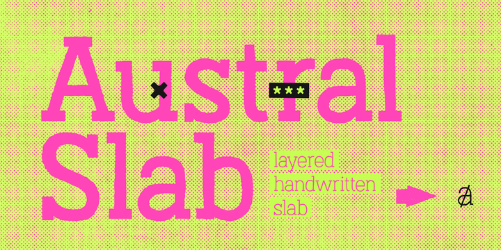 Austral Slab Blur Regular