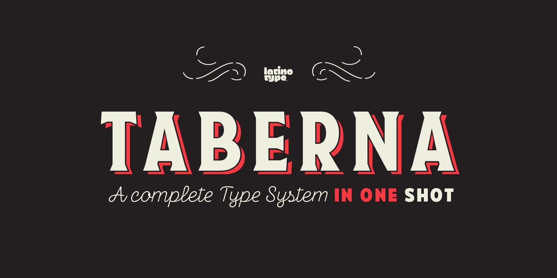 Taberna Serif Regular