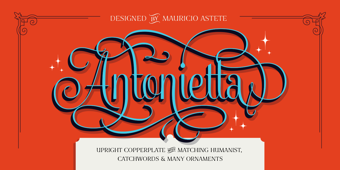 Antonietta Ornaments