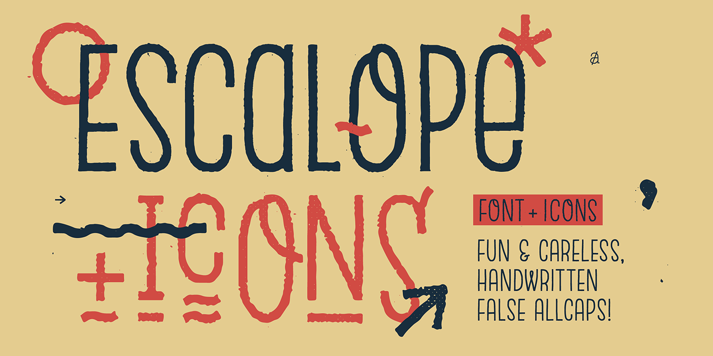 Escalope Three Icons