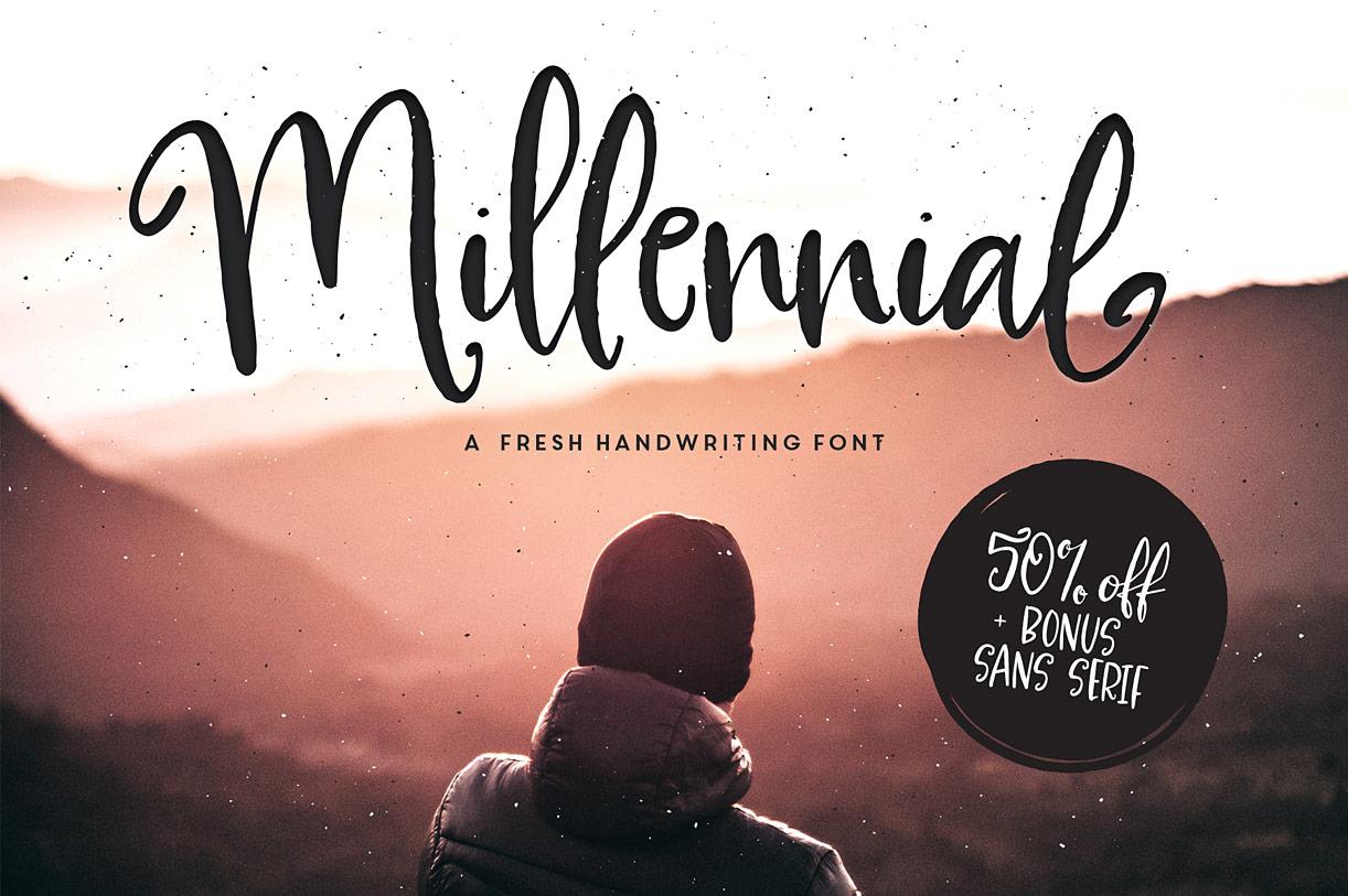 Millennial Script
