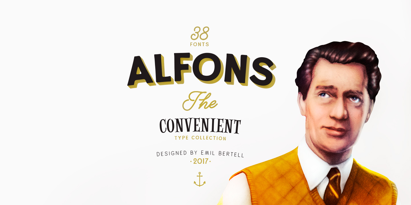 Alfons Ornaments Medium