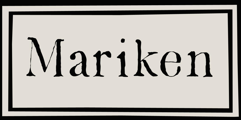 Mariken Bold Italic