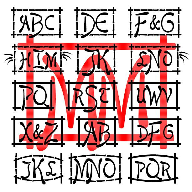 Mikado Monograms