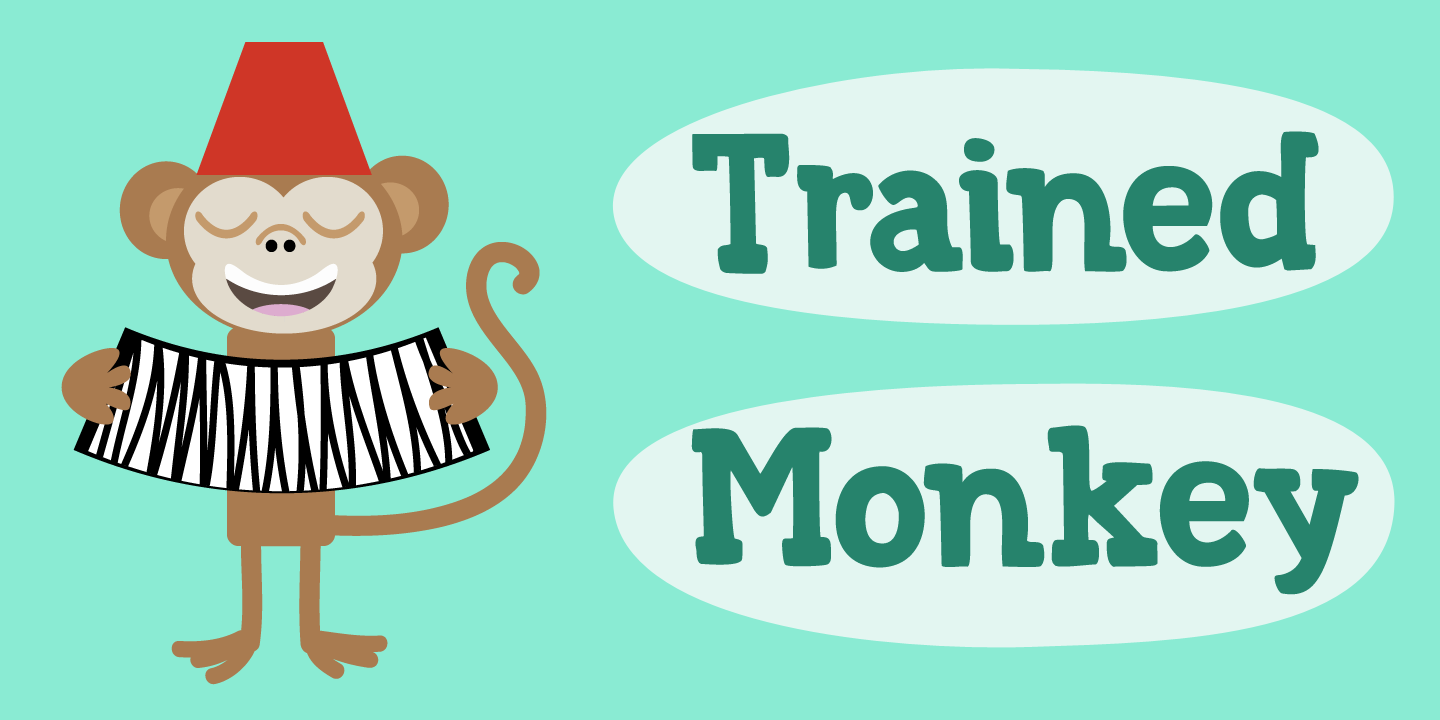 Trained Monkey