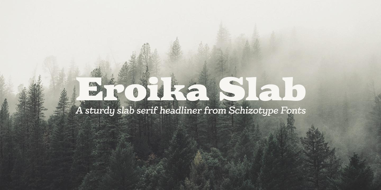 Eroika Slab Bold Italic