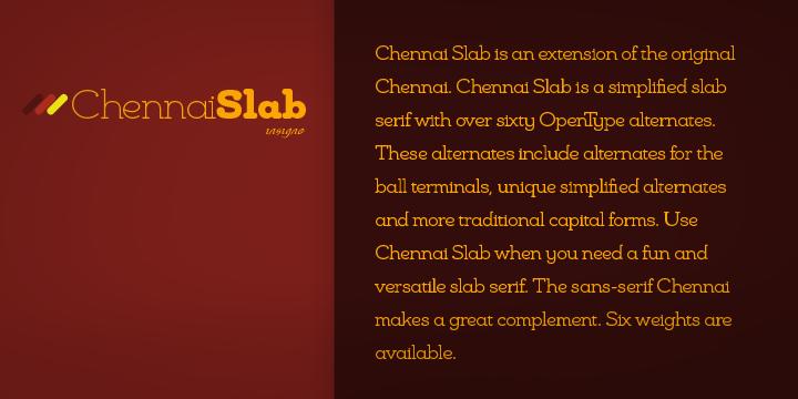 Chennai Slab