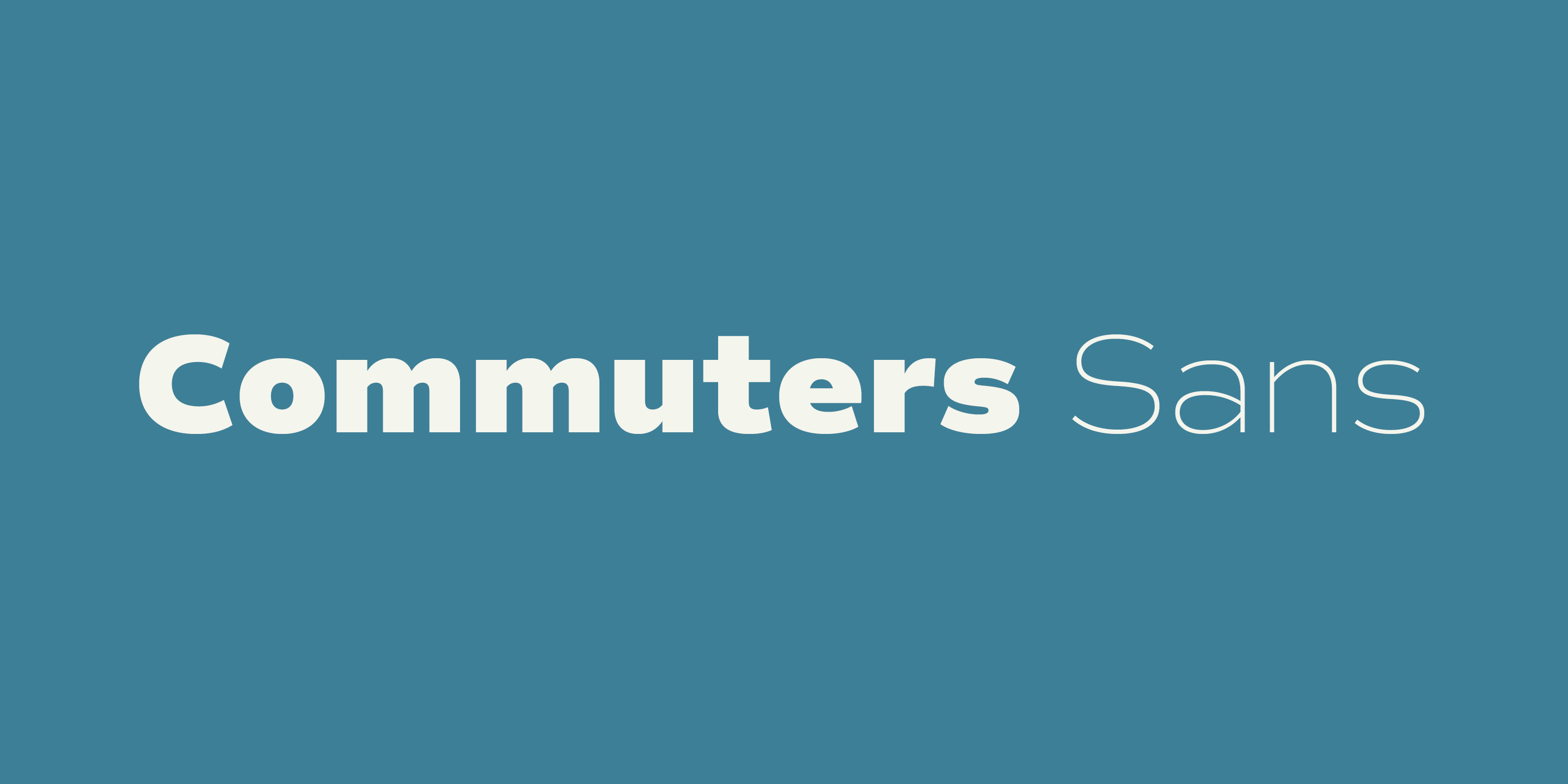 Commuters Sans
