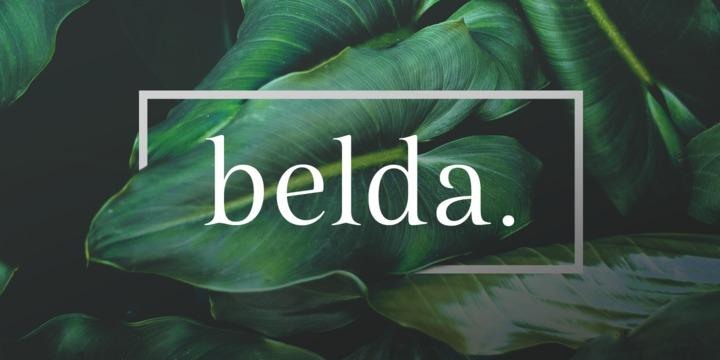 Belda Extended Book Italic