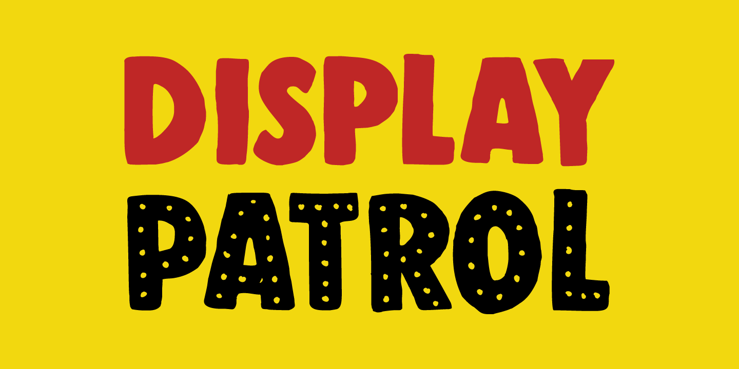 Display Patrol