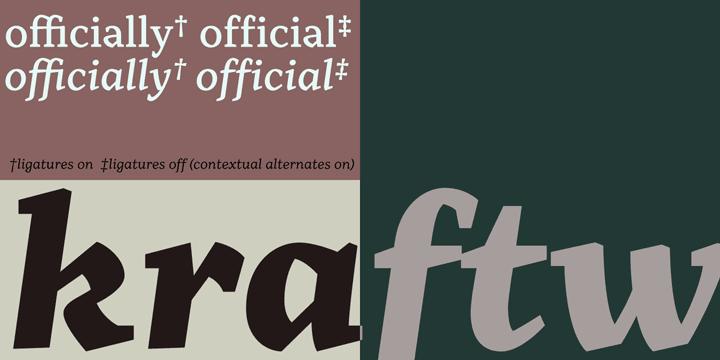 Range Serif