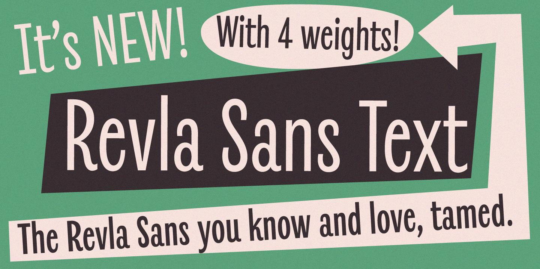 Revla Sans Text
