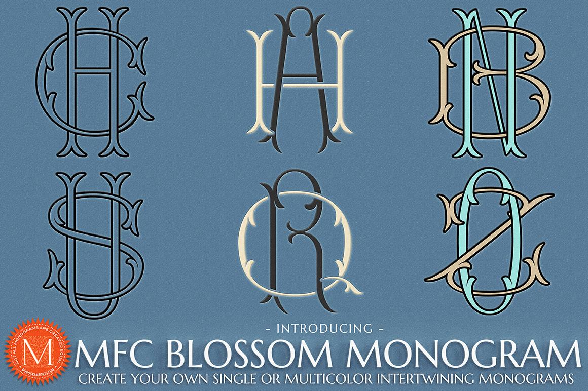 MFC Blossom Monograms