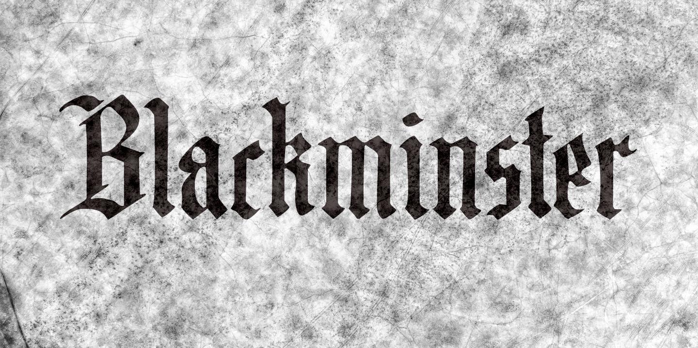Blackminster Italic