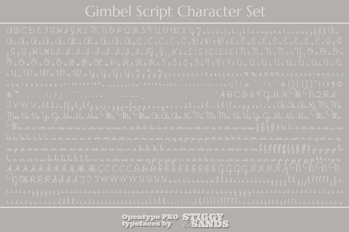 Gimbel Script