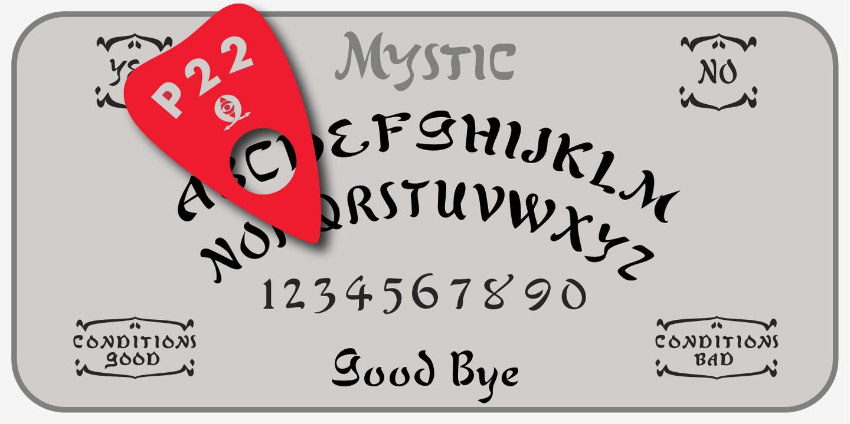 P22 Mystic Font