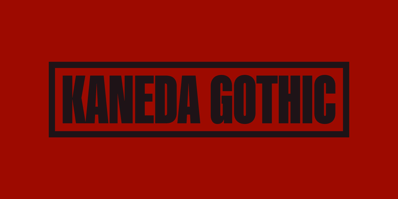 Kaneda Gothic