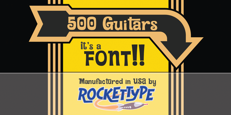 500 Guitars
