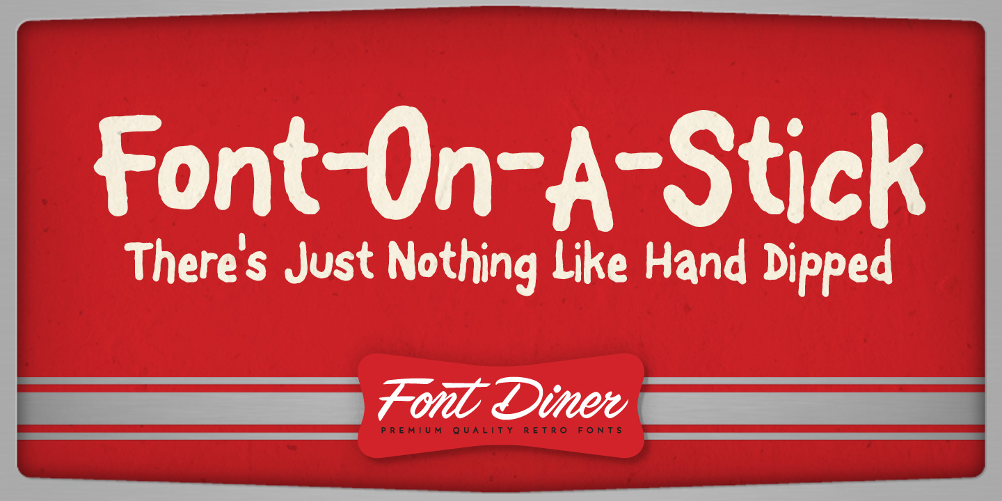 Font-On-A-Stick