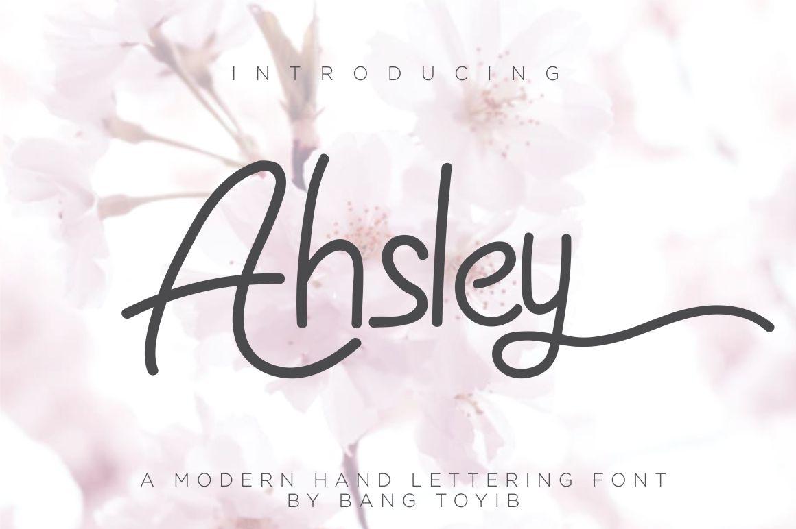 Ahsley