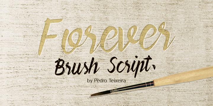 Forever Brush Script
