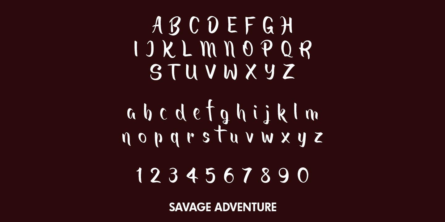 Savage Adventure