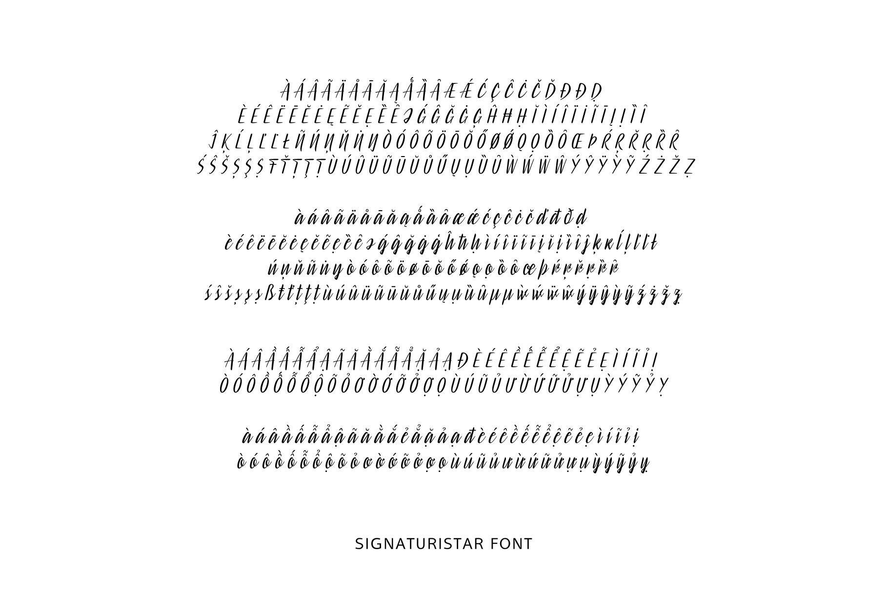 Signaturistar