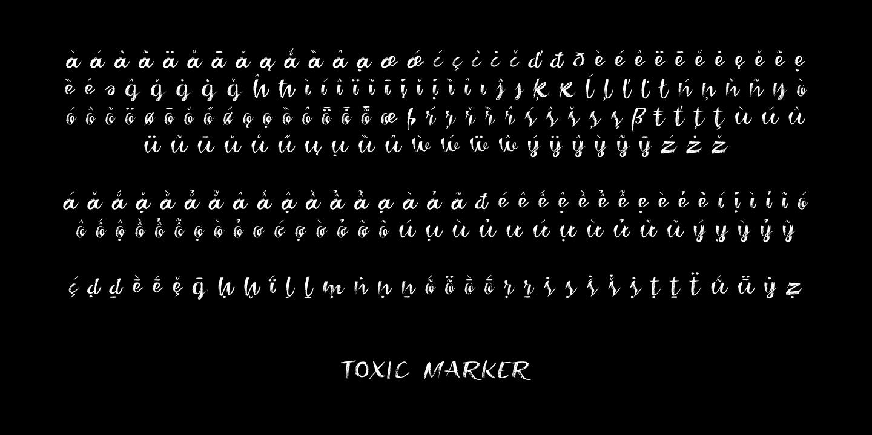 Toxic Marker