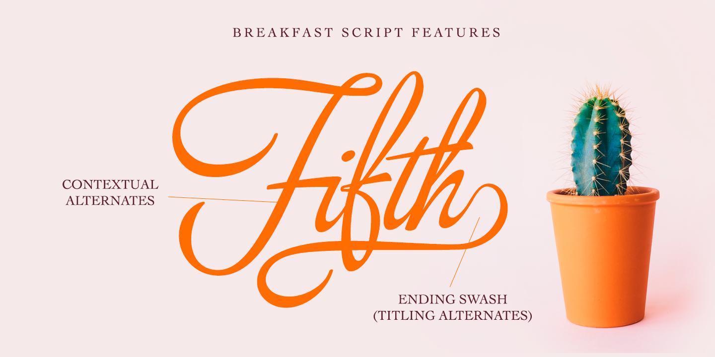 Breakfast Script