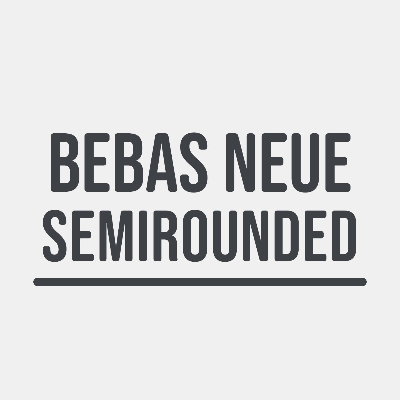 Bebas Neue Semi Rounded